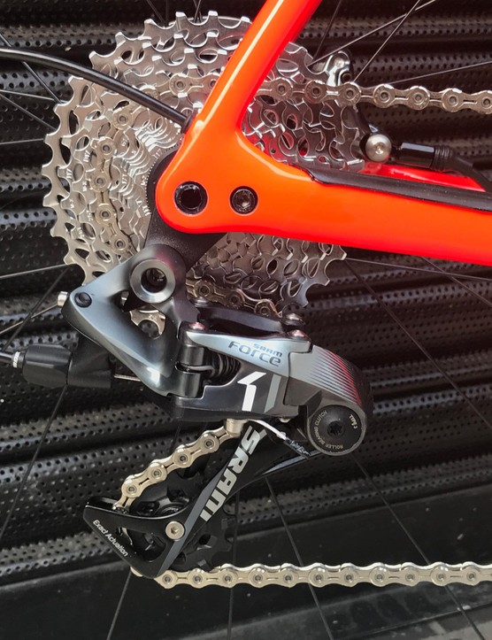 SRAM Force gearing for CX-based muddy fun