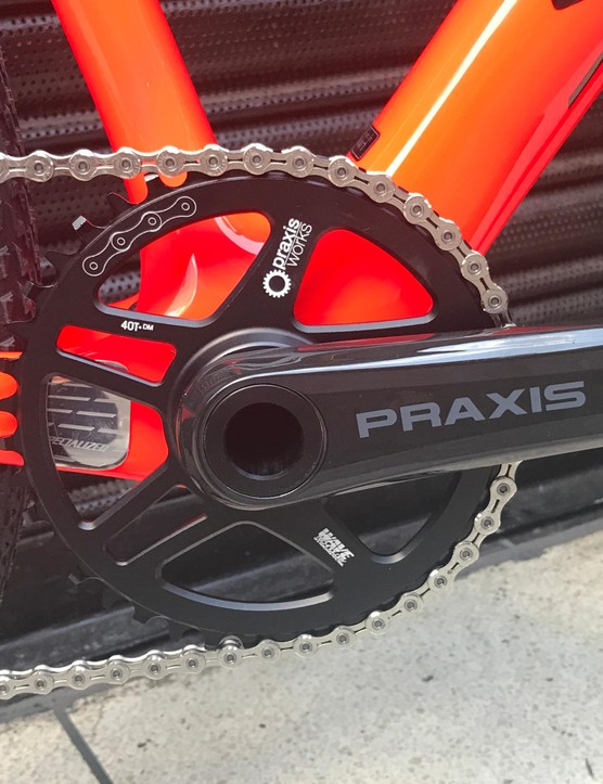 A Praxis crank finishes off the groupset