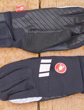 The 3M reflective elements work better than the thin silicone grippers on the palm and fingers