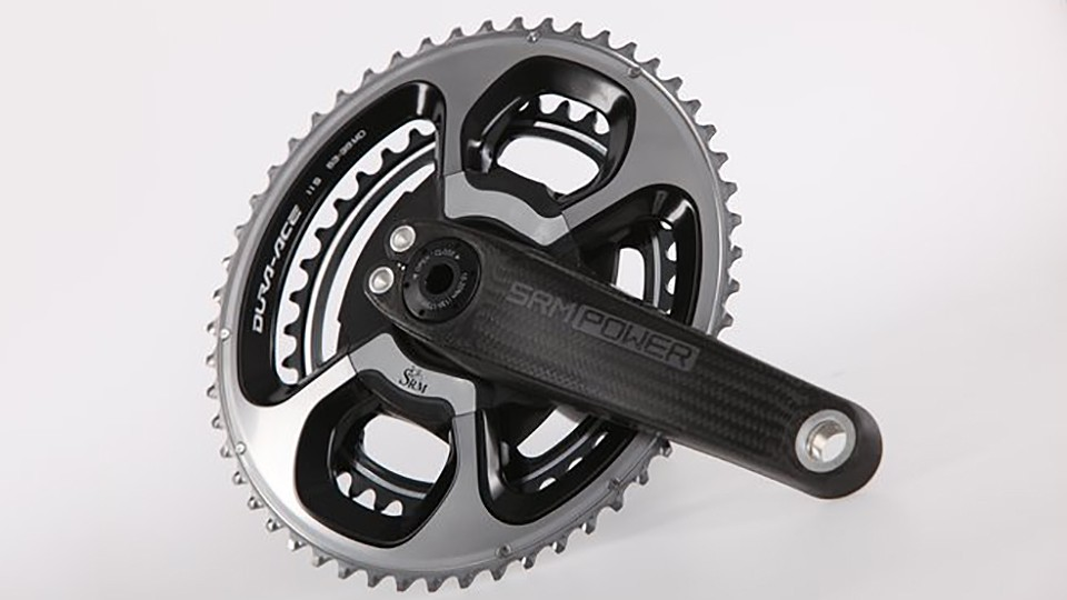 The ultralight carbon crank arms are claimed to weigh a mere 99g each