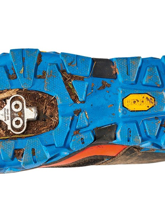 The Cube's Vibram sole