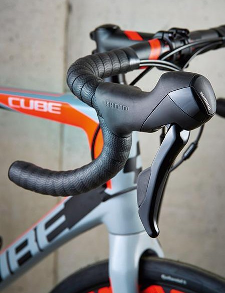 … but the levers have a distinctive bulging profile
