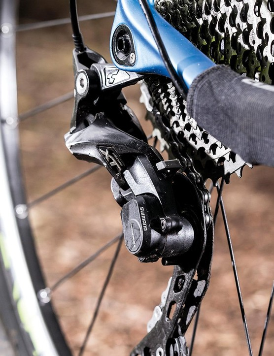 The Shimano XT transmission is great value on the Cube Reaction GTC Pro