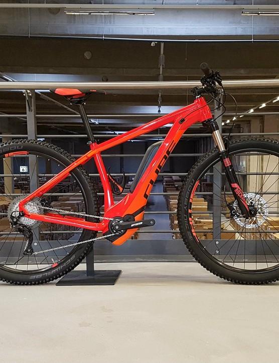 Cube's Reaction Hybrid HPA SL 500 looks a smart e-bike buy