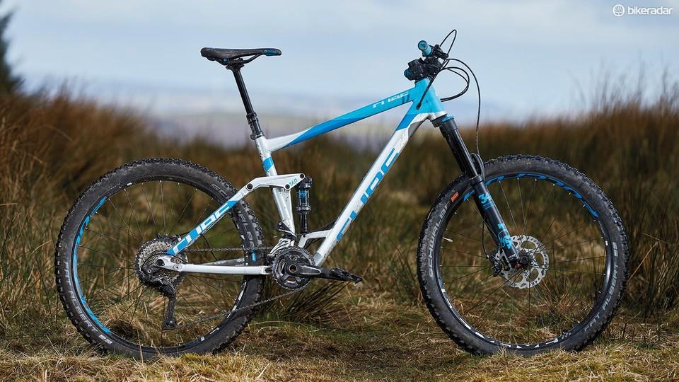 783d9679da8 Cube Stereo 160 SL 27.5 first ride review - BikeRadar
