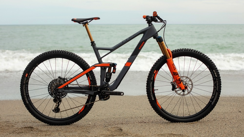Cube's new enduro weapon gets big wheels and an aggressive suspension feel