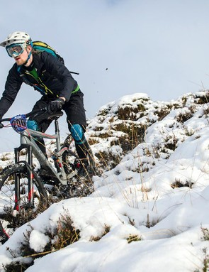 The brakes performed poorly in the gritty Scottish conditions