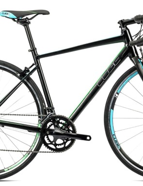 The Cube Axial women's road bike has Shimano Sora gearing
