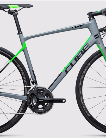 The Cube Attain GTC Pro looks sharp in 2017 colours