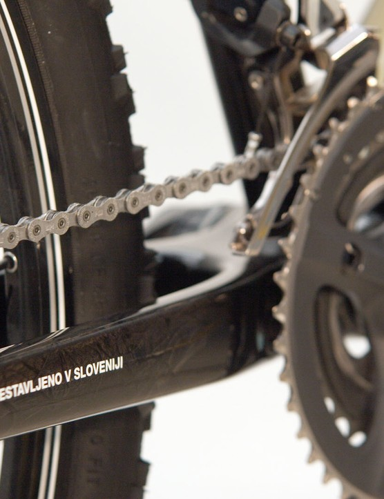 Shimano XTR all around.