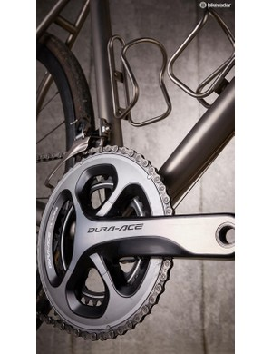 Shimano Dura-Ace is in charge of shifting