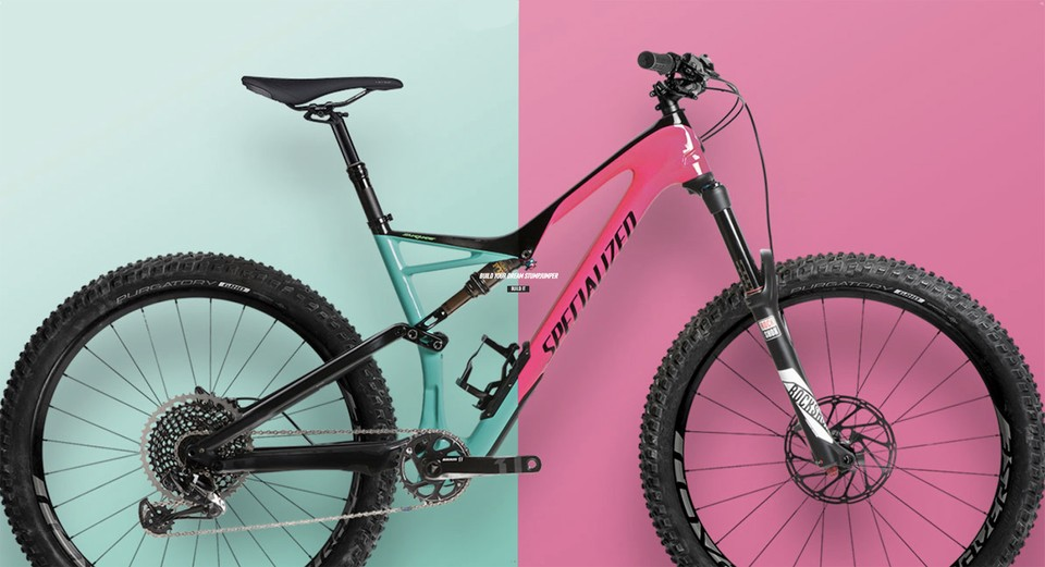 a64a6b962dc Now you can build the Stumpjumper of your dreams. Specialized launches customizable  Stumpjumper FSR ...