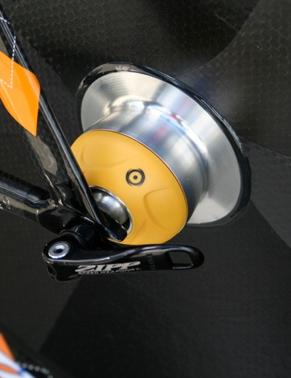 Zipp now produces its top disc wheels with PowerTap hubs which the team uses for both training and racing.