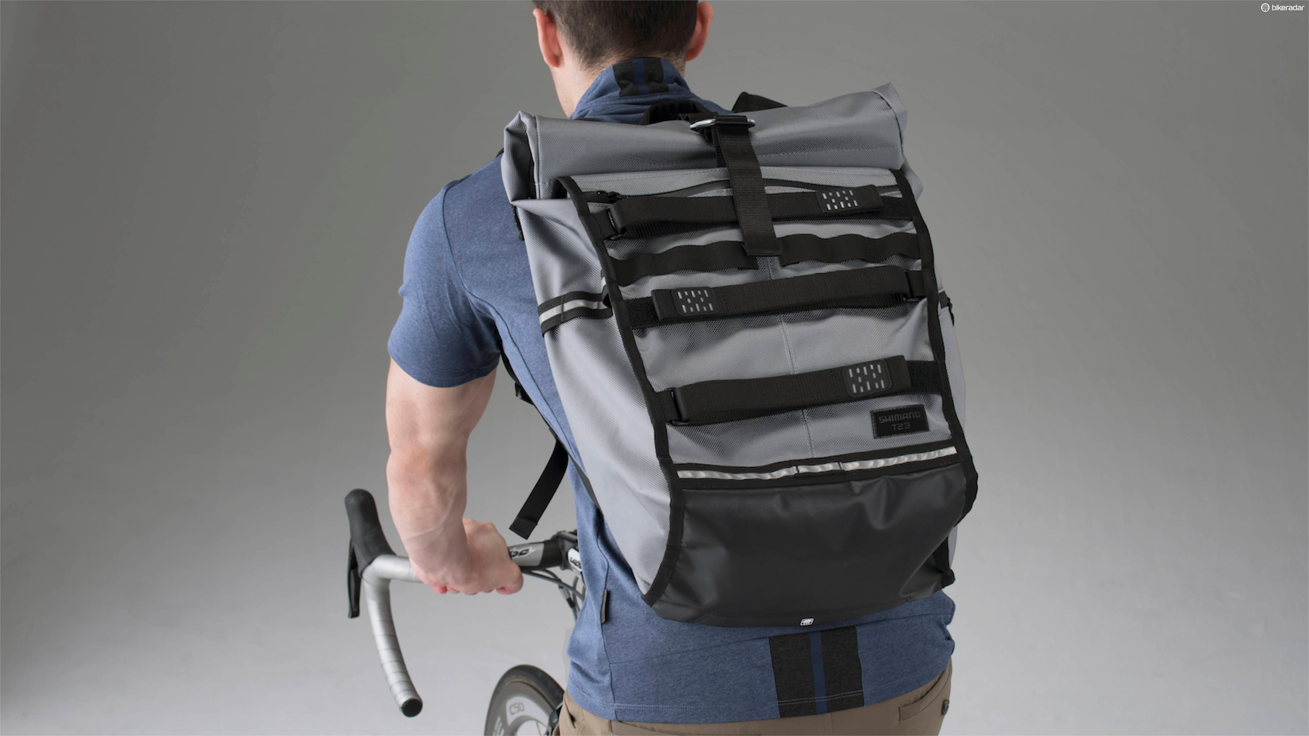 The Tokyo backpack comes in 17-litre and 23-litre versions
