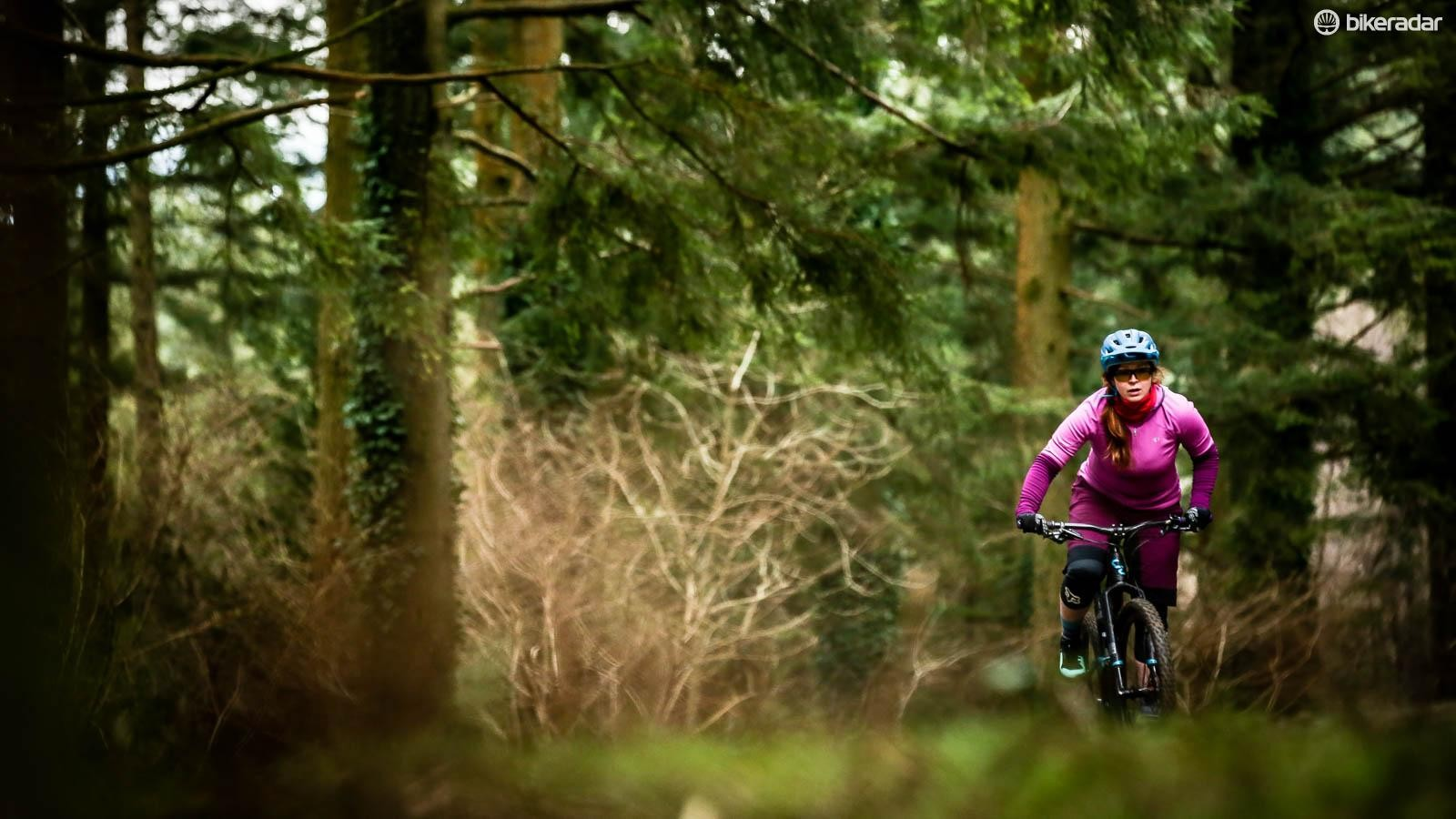Our women's editor Aoife took the Liv Pique out to a trail centre in Wales
