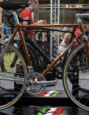 This Wilier caught our eye with its deep, copper colour