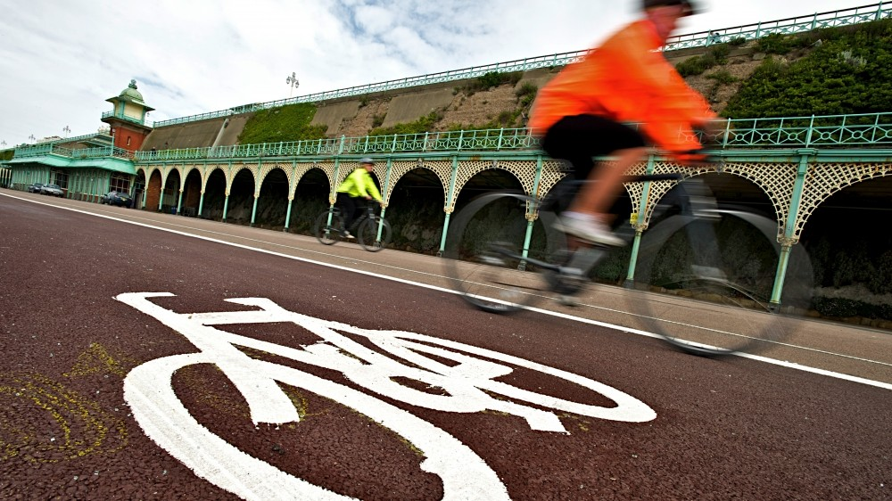 The quality of cycle paths in the UK varies widely