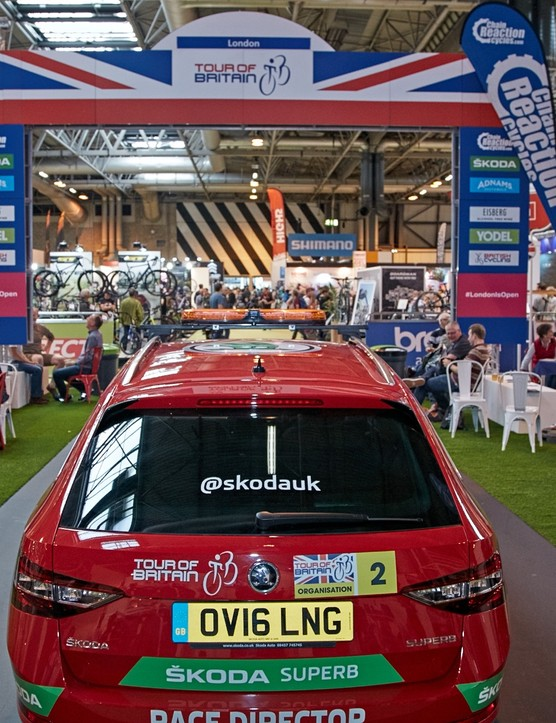 Check out the Tour of Britain team cars and bikes, and rub shoulders with the stars from Britain's premier road race