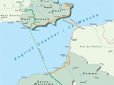 The London-Paris route