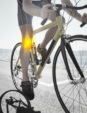 Damage to your knee could be caused by you, your bike or the way you cycle