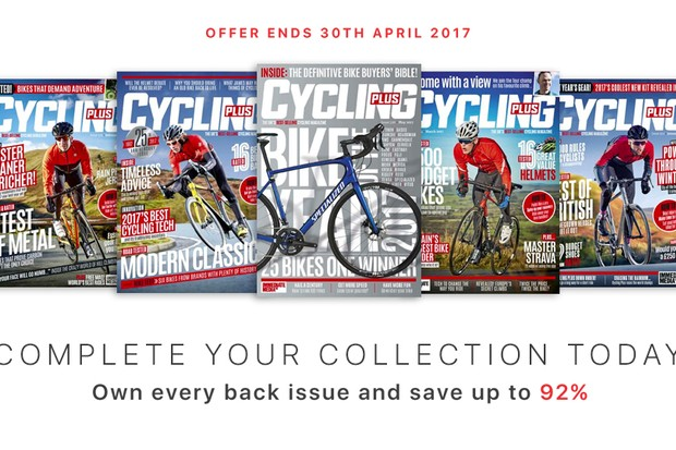 Download the Cycling Plus app and enjoy every back issue