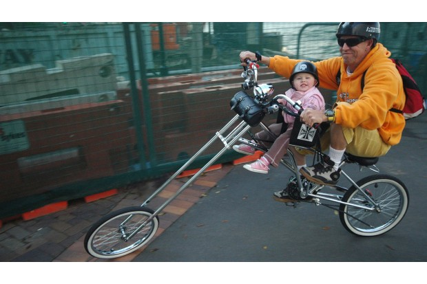 Cycling is something the whole family can do together