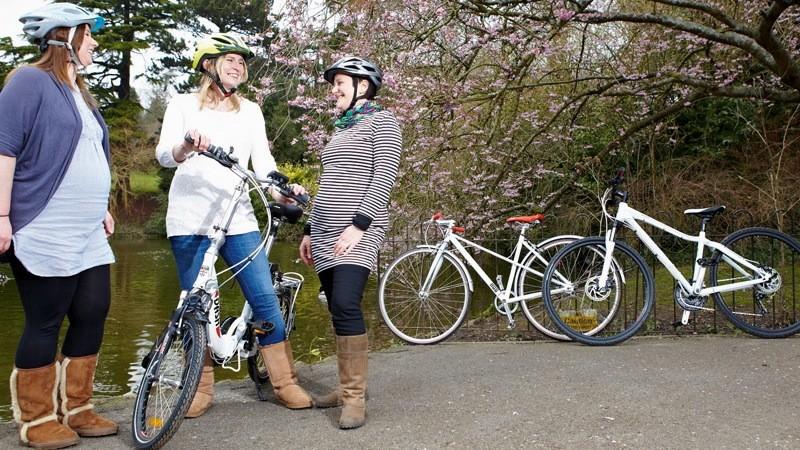 Велоспорт во время беременности поможет как матери, так и ребенку