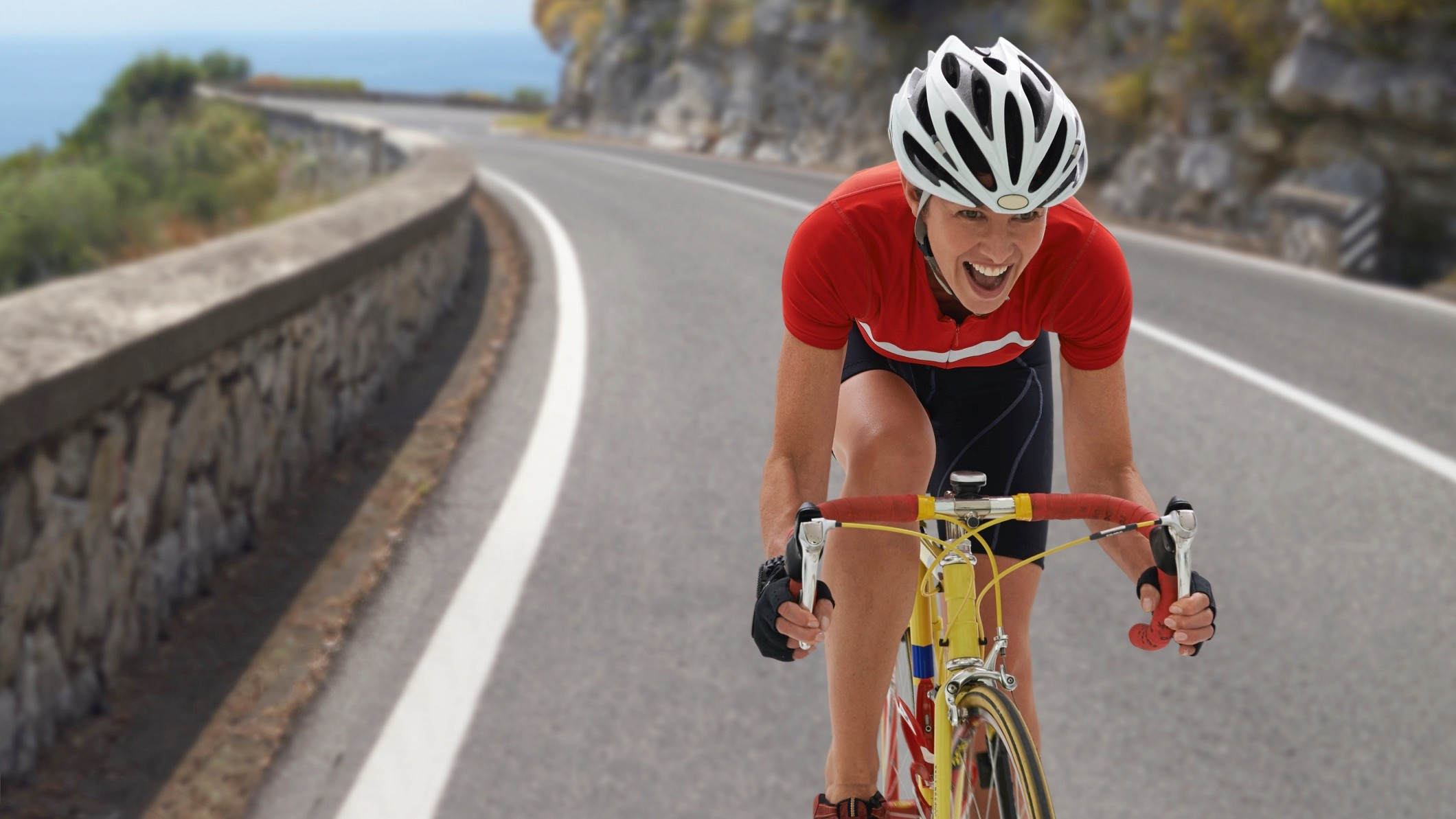 In case you were unsure — cyclists have a legal right to be on the road!