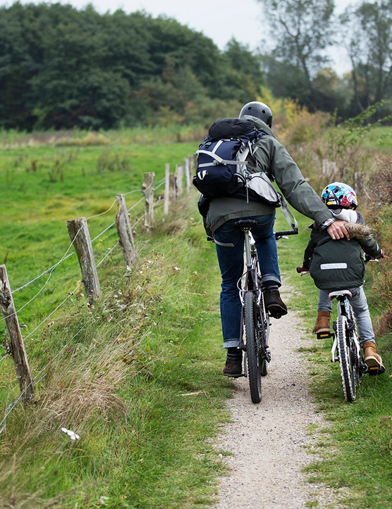 Cycling is a great form of exercise for kids that also helps build their confidence