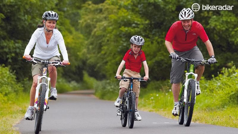 It won't be long untill your kids progress to independent cycling