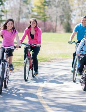 Taking the family on a cycle ride? Read our advice first