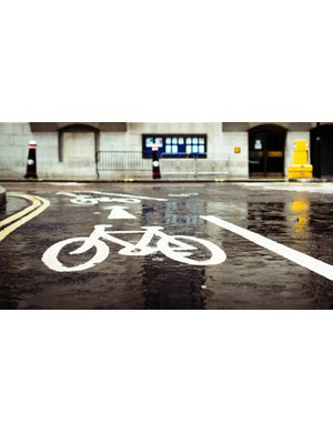 Be careful of those wet road markings, they can be as slippery as ice in the wet!