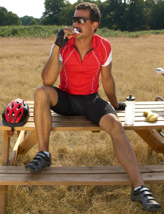 To avoid the dreaded 'bonk' on long rides, aim to eat little and often