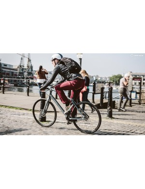 Learn some basic city skills — be assertive and learn the primary and secondary riding positions