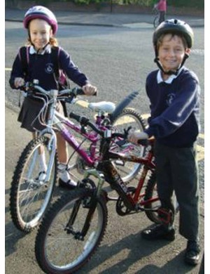 Just 2% of children currently cycle to school.
