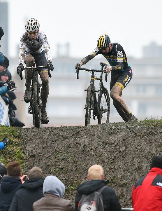Cyclocross is full of challenging surfaces