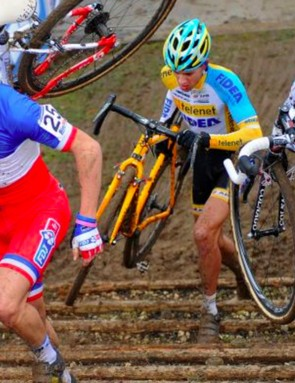 Cyclocross is a great way to mix up your winter training