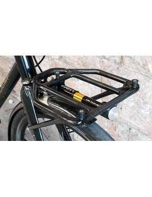 You don't see many carbon racks...