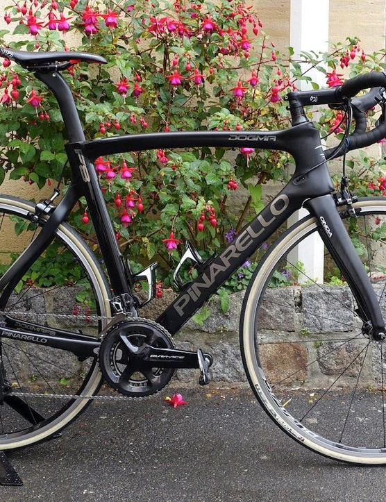 Earlier in the year we tested the Dura-Ace R9100 in France several days before the start of the Tour