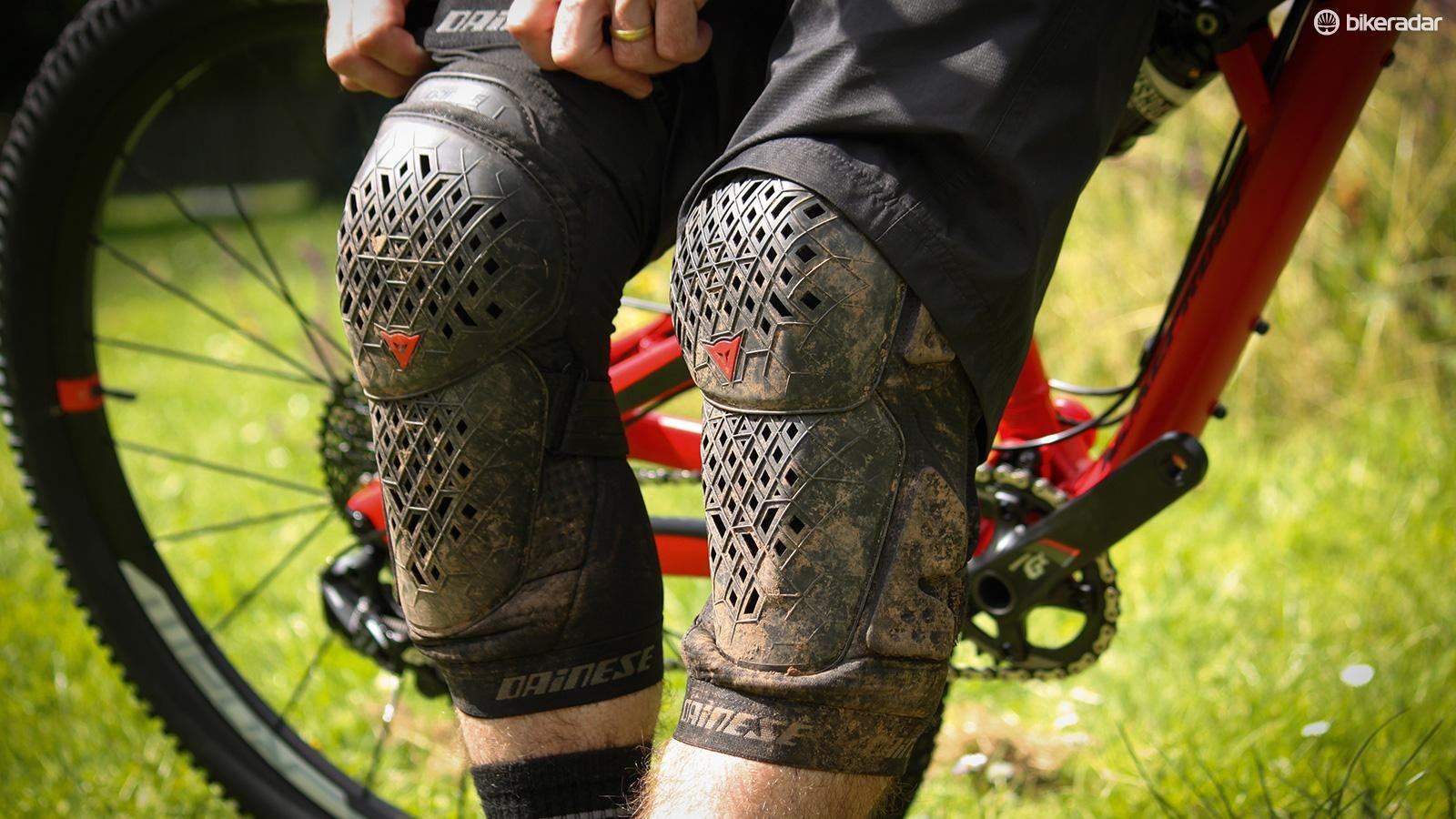 Dainese's Armoform knee pads will last you all day