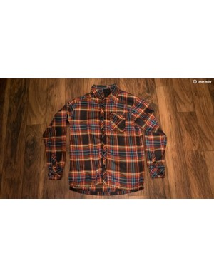 Dakine's Oakridge Flannel is intended to be comfortable on or off the bike