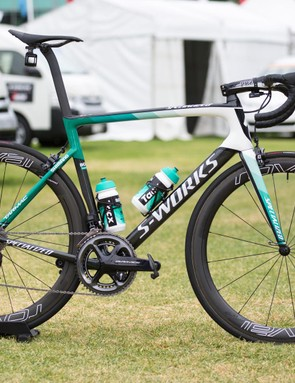 Daniel Oss is on a new team this year, and that means a new bike too