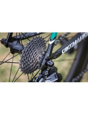 Last year the majority of the teams were riding Ultegra cassettes, this year all but one are on Dura-Ace