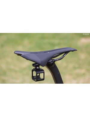 Oss' saddle of choice is the Roman Evo