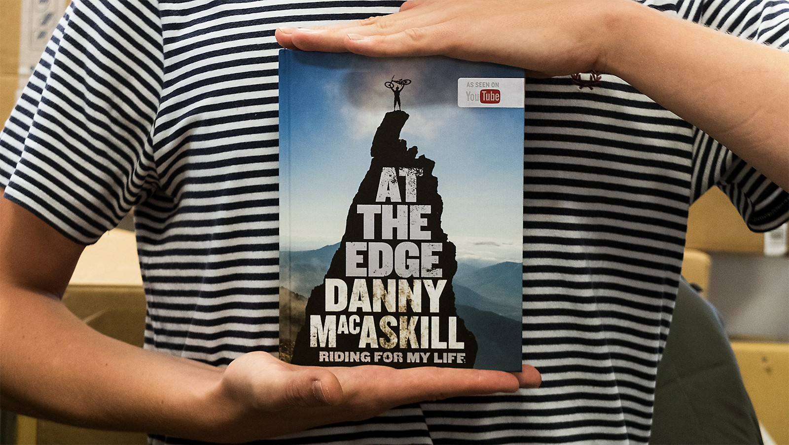 Danny MacAskill has released his first book and we're getting stuck in