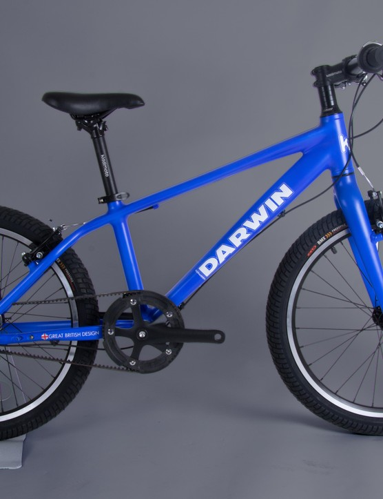 The 20-inch frame version features a Shmano Nexus three-speed internal hub gear