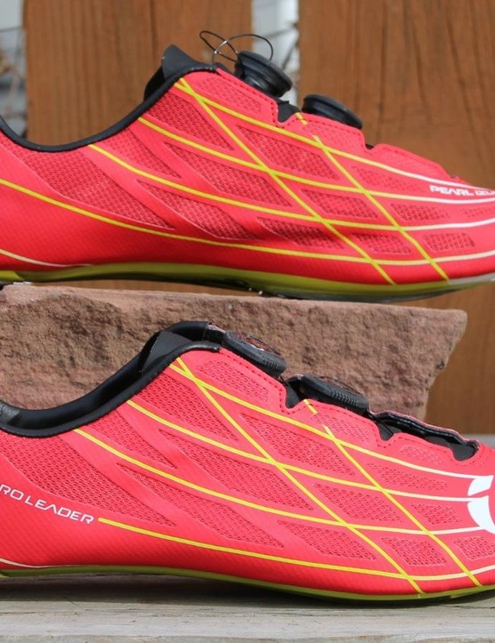Pearl Izumi's PRO Leader III shoes have a low stack height