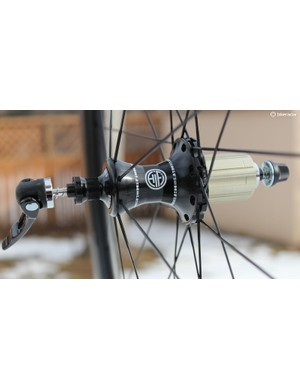 The 11spd hubs use Japanese stainless steel ball bearings