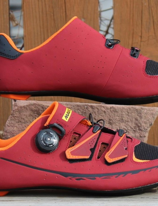 Mavic's Kysrium Pro shoes weigh 296g in a size 45