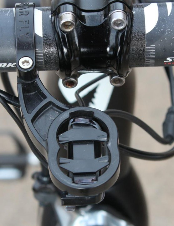 We have taken to mounting Di2 boxes to Bar Fly Garmin mounts with zip ties